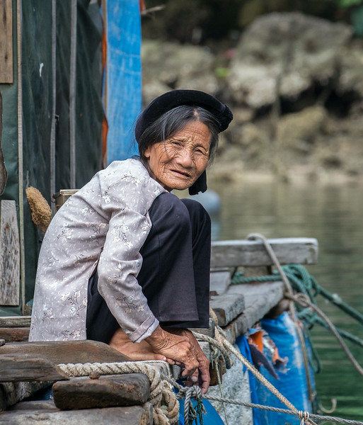 Ha Long Bay, Vietnam: floating village