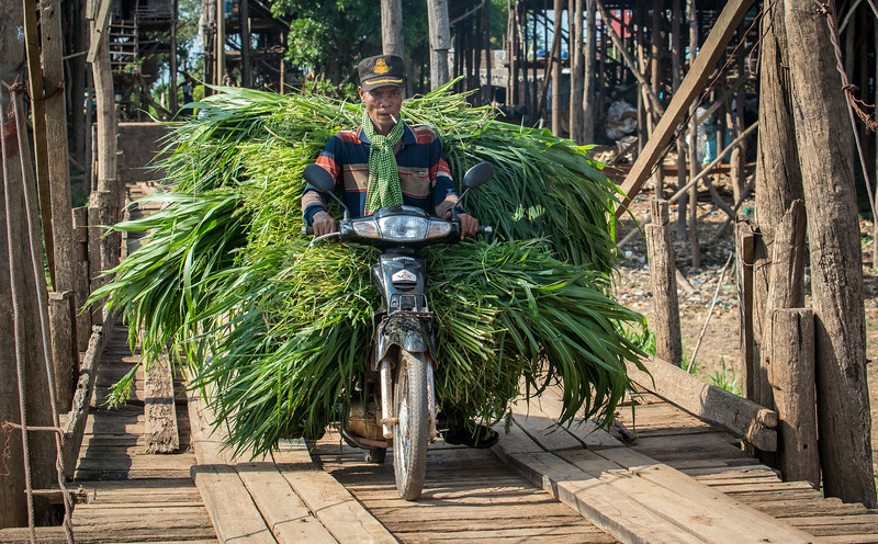 Kompong Khleang at Tonle Sap, Cambodia