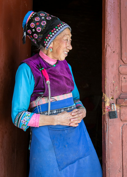 Zhou Cheng, China: an attendant at a local Buddhist temple