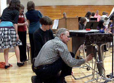 HHS Music Dept Judges Night 3-19-2009