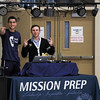 Mission Prep Volleyball hosted San Luis Obispo High School in San Luis Obispo, CA. Photo by Owen Main 10/10/19