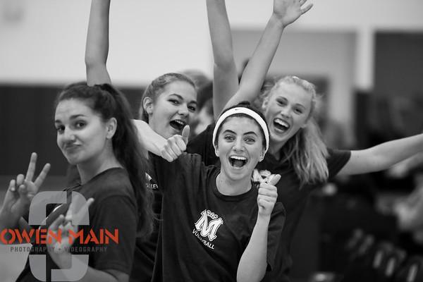Mission Prep Volleyball Vs St. Joseph 09022019