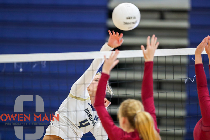 Mission Prep hosted Nipomo in the first volleyball match of the 2018 season. 8/14/186:03:26 PM <br /> <br /> Photo by Owen Main