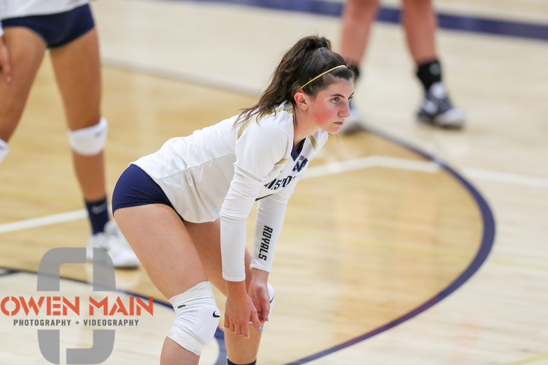 Mission Prep hosted Nipomo in the first volleyball match of the 2018 season. 8/14/185:59:40 PM <br /> <br /> Photo by Owen Main