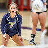 Mission Prep hosted Nipomo in the first volleyball match of the 2018 season. 8/14/186:07:55 PM <br /> <br /> Photo by Owen Main