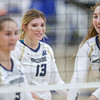 Mission Prep hosted Nipomo in the first volleyball match of the 2018 season. 8/14/186:10:54 PM <br /> <br /> Photo by Owen Main