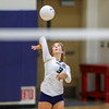 Mission Prep hosted Nipomo in the first volleyball match of the 2018 season. 8/14/186:09:11 PM <br /> <br /> Photo by Owen Main