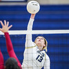 Mission Prep hosted Nipomo in the first volleyball match of the 2018 season. 8/14/186:12:49 PM <br /> <br /> Photo by Owen Main