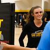 Mission Prep volleyball played San Luis Obispo High School. Photo by Owen Main 9/17/19
