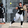 5/1/183:30:51 PM --- San Luis Obispo High School JV Softball played a game against Pioneer Valley High School.<br /> <br /> Photo by Owen Main / Fansmanship.com