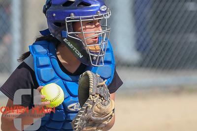 5/1/183:33:38 PM --- San Luis Obispo High School JV Softball played a game against Pioneer Valley High School.  Photo by Owen Main / Fansmanship.com