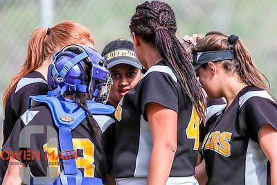 5/1/183:31:19 PM --- San Luis Obispo High School JV Softball played a game against Pioneer Valley High School.  Photo by Owen Main / Fansmanship.com