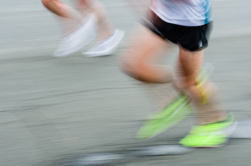 Blurs - at Boston MArathon
