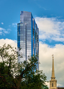 Millenium Tower and Park St. Church