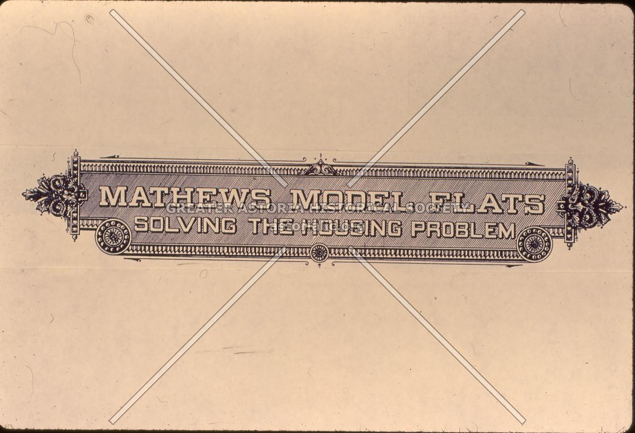 Mathews Model Flats plate