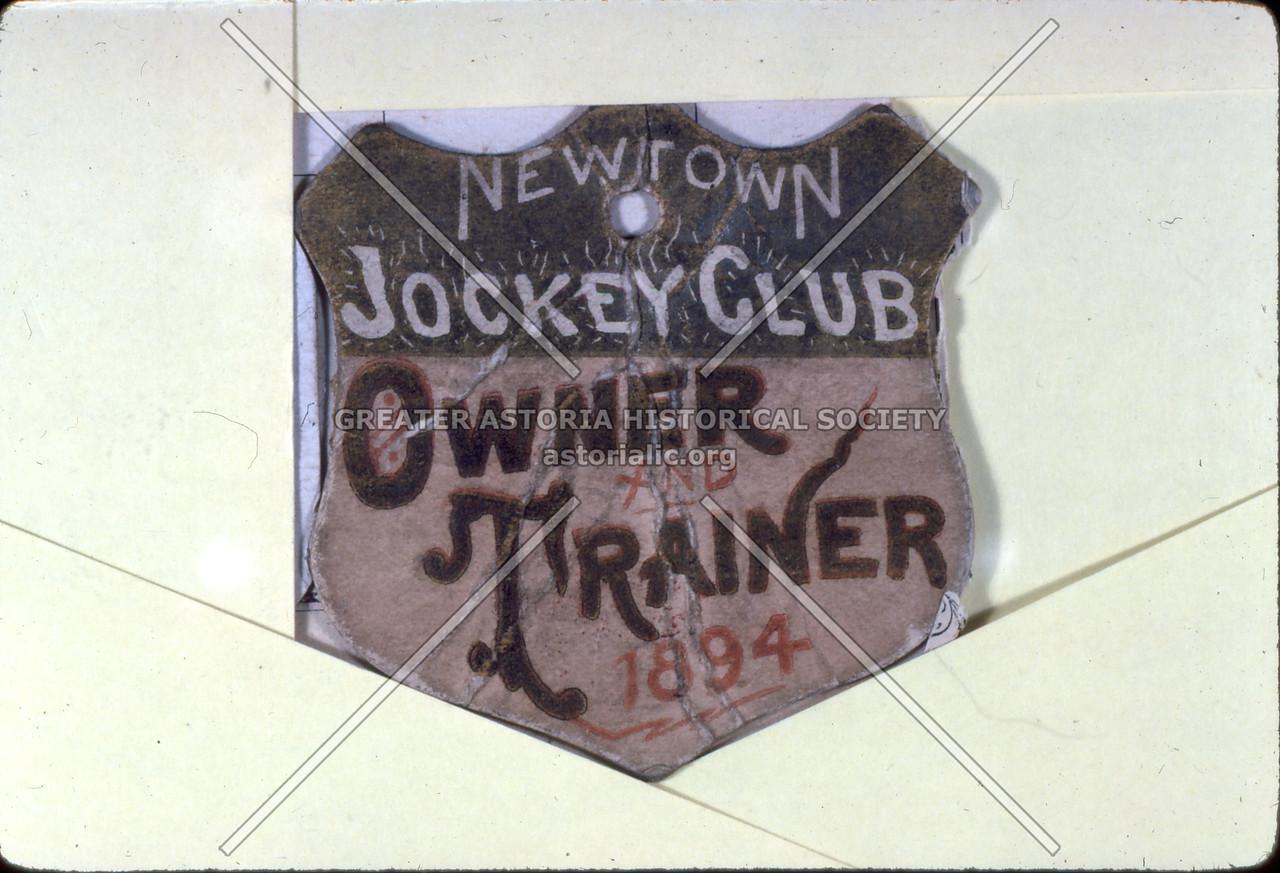 Newtown Jockey Club 1894