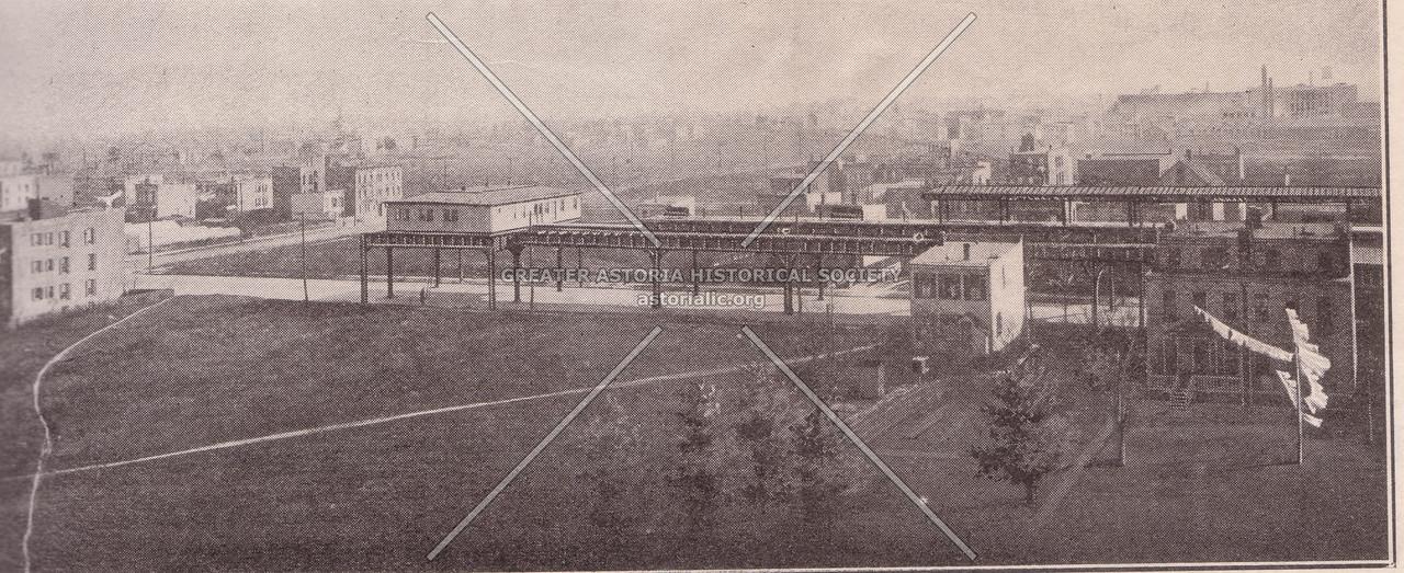 31st Street and Ditrmars  1918