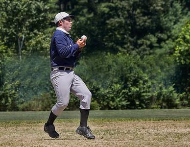 Fielding a grounder