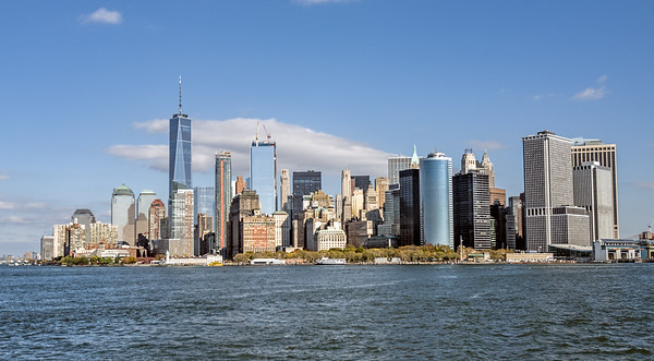 from Staten Island ferry