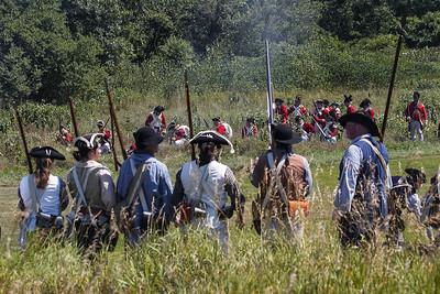 redcoats retreat