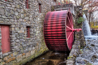 Big water wheel