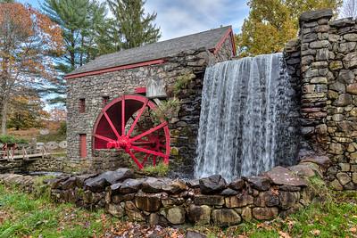 Wheel, mill, falls