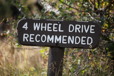 Four Wheel Drive Recommended