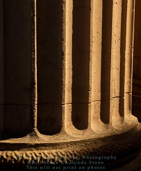 column - palace of fine arts - san francisco