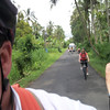 Bike riding in the country side of Bali
