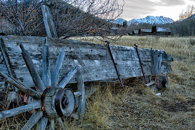 Wagon at AshCroft, Colorado