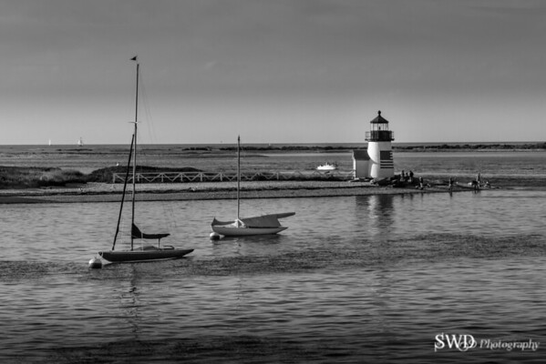 Nantucket's Brant Point Light on a Summer Afternoon
