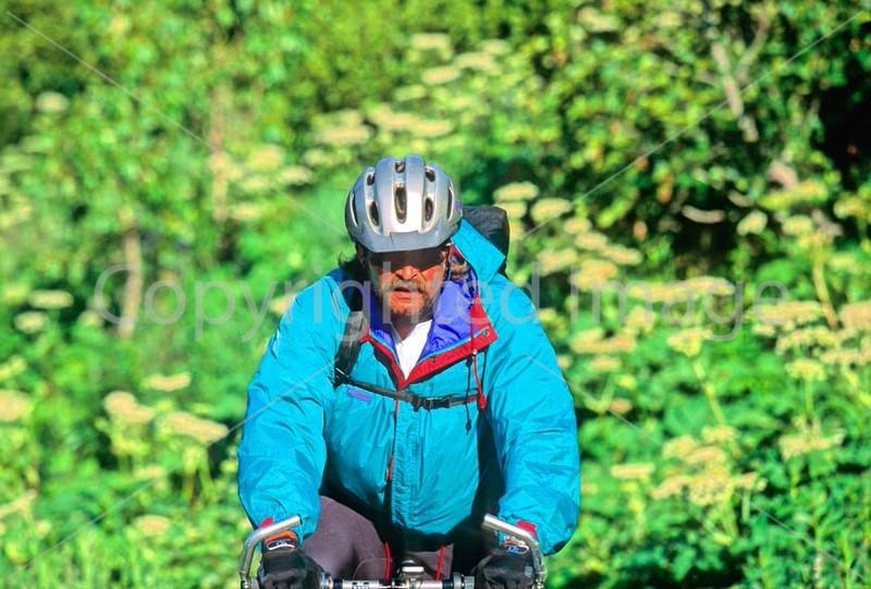 Mountain biker(s) in Chugach Mountains on Alaska's Kenai peninsula  - B ak chugach 8 - 72 dpi 2