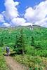 Mountain biker(s) in Chugach Mountains on Alaska's Kenai peninsula  - B ak chugach 26 - 72 dpi 2