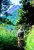 Mountain biker(s) in Chugach Mountains on Alaska's Kenai peninsula  - B ak chugach 58 - 72 dpi 2
