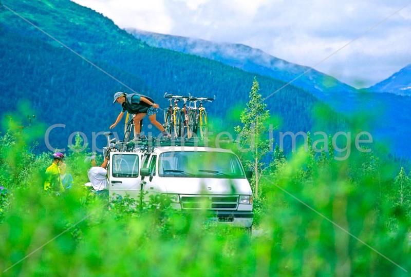 Cyclist on Alaska's Kenai Peninsula - B ak kenai 2 - 72 dpi 2