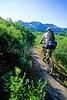 Mountain biker(s) in Chugach Mountains on Alaska's Kenai peninsula  - B ak chugach 11 - 72 dpi 2