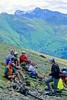 Mountain biker(s) in Chugach Mountains on Alaska's Kenai peninsula  - B ak chugach 22 - 72 dpi 2