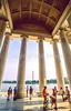 Bikers at Jefferson Memorial on Tidal Basin - 72 dpi-23