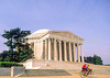 Bikers at Jefferson Memorial on Tidal Basin - 72 dpi-3