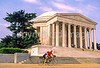 Bikers at Jefferson Memorial on Tidal Basin - 72 dpi-19