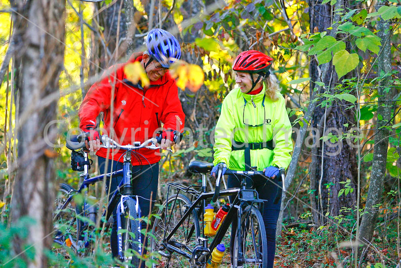Cyclists at Garrett Farm site - 72 dpi --0685