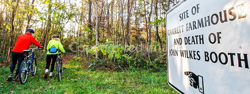 Bikers at Garrett Farm site in Virginia - 72 dpi -0995