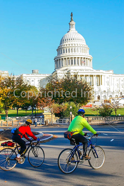 Cyclists near Capitol in DC - 72 dpi -0281