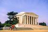 Bikers at Jefferson Memorial on Tidal Basin - 72 dpi-31