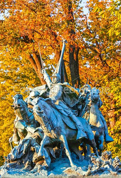 General Grant Memorial near Capitol Hill in Washington, DC - 72 dpi -1627
