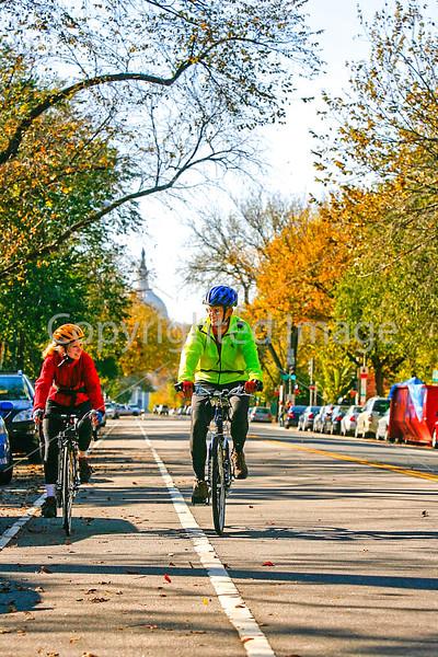 Cyclists in Washington, DC, near the Capitol - 72 dpi -1393
