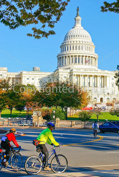 Cyclists near Capitol in DC - 72 dpi -0252
