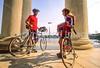 Bikers at Jefferson Memorial on Tidal Basin - 72 dpi-16