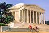 Bikers at Jefferson Memorial on Tidal Basin - 72 dpi-9