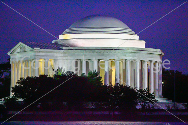 Jefferson Memorial in Washington, DC - 72 dpi -1684